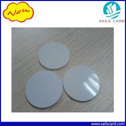 시간 출석을%s 125kHz RFID 디스크 꼬리표 PVC 동전 카드