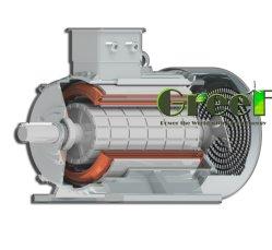 300kw 500kw 220V380V 50Hz 바람 터빈을%s 수력 전기 프로젝트를 위한 60Hz에 의하여 주문을 받아서 만들어지는 AC 3phse 저속 고능률 자유 에너지 무브러시 영구 자석 발전기