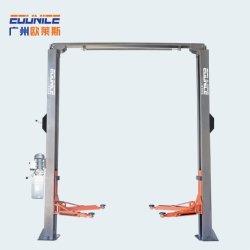 Стандартный подъемник для автомобилей с двумя стойками, автогараж, ремонтный лифт Подъемное оборудование с одной стороны с ручным расцебоем