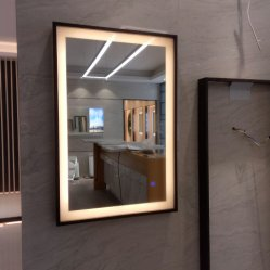 Rectángulo Lavabo Hotel LED inteligente espejo decoracion espejo del baño