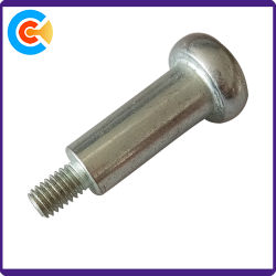 Azul acero al carbono zinc tornillos M6 de paso para los cochecitos