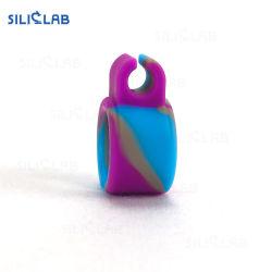 La coutume de la fumée du tabac l'anneau en caoutchouc de silicone doigt anneau en silicone