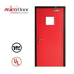 Fuego Anti-Proof puerta comercial de acero con 3 horas Certificación UL
