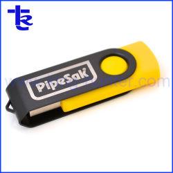 Twist Metal Promotion Geschenk OEM Logo Druck USB-Flash-Laufwerk