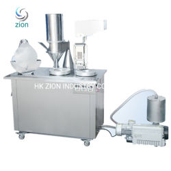 Capsule d'alimentation semi-automatique pour les hommes de l'ail en poudre le champignon Reishi Capsule Capsule Machine de remplissage Semi-Auto Capsule Machine de remplissage manuel de taille 0