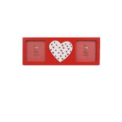 Cadeau promotionnel de haute qualité de l'artisanat en bois pour la Saint-Valentin en MDF