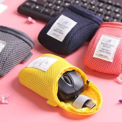 オルガナイザーシステムキットの箱の携帯用記憶袋のデジタル小道具装置USBケーブルのイヤホーンのペン旅行装飾的な挿入