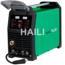 Máquina de soldadura MIG Aluminio multifunción\TIG\MMA Soldador Digital Pantalla LCD Color verdadero MCU MIG-200