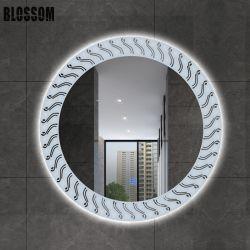 卸し売りホテルのホーム装飾的な壁LEDによって照らされるスマートなミラーの装飾