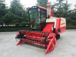 Type de piste de ferme agricole combiner/ Récolte de riz Blé Maïs / machine de récolte de la récolteuse 4LZ-5g avec la certification CE