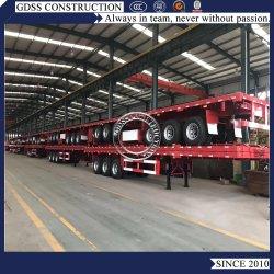 De gebruikte 40FT Vrachtwagen van de Aanhangwagen van de Container van het Vervoer Semi