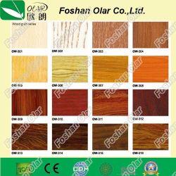 Placa de fibra de cimento--revestimento UV Multipurposed corta-fogo Textura de superfície