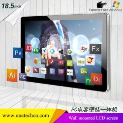 18.5/21.5/32/43/49/55pouces ascenseur intérieur pour montage mural écran numérique LCD Vidéo Media PC Windows Capactive écran tactile du système