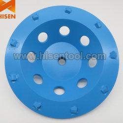 Roda da capa de moagem de diamante para piso de resina epóxi PCD