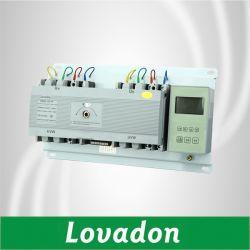 Ndq3b Color Blanco doble alimentación inteligente / Interruptor de transferencia automática con el interruptor de cambio automático de tensión de ATS AC 220V
