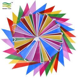 屋内多色刷りのプラスチック旗30のフラグか屋外党装飾の旗布のフラグ