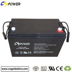 Batteria al piombo acido AGM SLA 12V 100ah VRLA Solar Power Conservazione