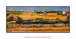 100% handgemachte Wiedergabe das Ernte-Wand-Kunst-Ölgemälde