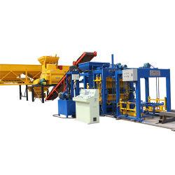 Qt 5-15 entièrement automatique le béton de ciment brique creuse de verrouillage de ligne de production machine à fabriquer des blocs pour la vente