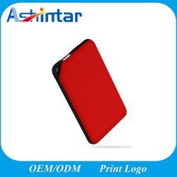 Haute qualité Super Slim Soft Touch Banque d'alimentation chargeur de batterie portable pour iPhone