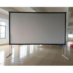 160インチの前部および背部スクリーンの投射のフィルム3Dの映写幕のハイコントラストの容易なFoldable
