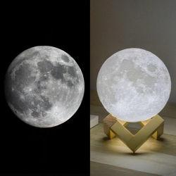Ceative 3D-LED лунный свет мяч для матерей День Подарков