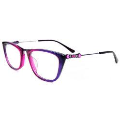 Handmade acétate verres optiques et les Lunettes Les lunettes de châssis d'acétate de châssis