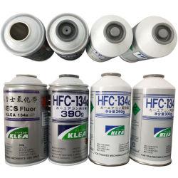 Klea 냉매 가스 R134a Ineos Fluor 390g 순도 99.9% 숙련된 기계만 사용합니다