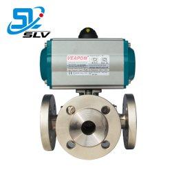 Пневматический 3 три пути пропорциональный клапан регулируется 3 Трехходовой газовый клапан