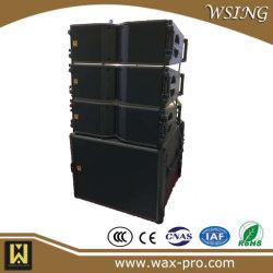 """Каре с двумя 8"""" двухходовой линейный массив PA динамик Pro Audio Звуковая система"""