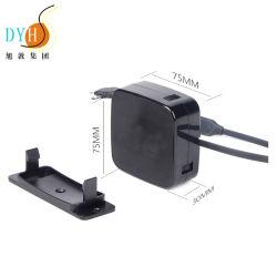 De in het groot Duurzame 2W Schroef van Tijden 2A zette de Intrekbare Lader van de Kabel USB voor Stootkussen op