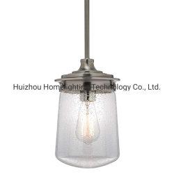 Jlc-8020 Ajustável Industrial Pendente de altura da lâmpada de luz com vidro sem sombra