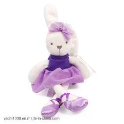 Custom propre animal en peluche avec Robe de lapin en peluche