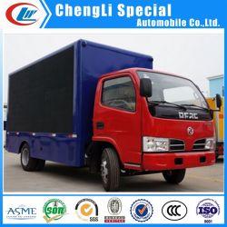 Dongfeng 4X2 LED de exterior vallas publicitarias Display P4/ P5/P6 Carretilla para anuncio de venta