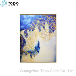 Beeld van het Glas van het metaal het Frame Geschilderde voor de Decoratie van de Muur (M.-yb6-2025)