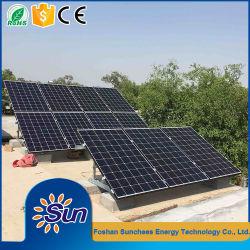De Systemen van het Zonnepaneel van de Systemen van de Zonne-energie van het Huis van het Systeem van de ZonneMacht van de Oplossing van de macht 5kw voor het Gebruik van het Huis