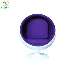 Современные дизайнерские яйца из стекловолокна для пакетиков прочный стул шаровой опоры рычага подвески
