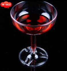 Vetro acrilico del vino rosso della radura del commestibile della Rottura-Prova per la cerimonia nuziale o il partito