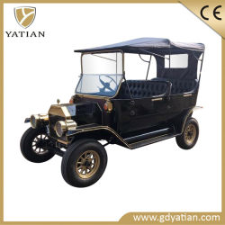 Königlicher Entwurfs-kleines elektrisches Golf-Auto mit LED-Scheinwerfer