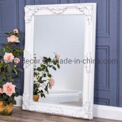 Роскошные старинные европейские деревянные рамы наружного зеркала заднего вида с полимера цветочного украшения
