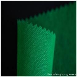100% poliéster reciclado personalizadas em tecido não tecido acolchoado