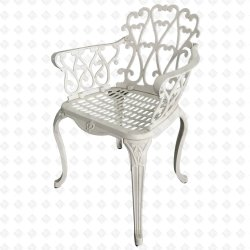 Cadeira de alumínio fundido Cadeira Exterior Jardim Oceano Cadeira Cadeira de Kd