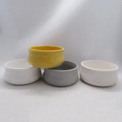 Livraison gratuite en céramique de moules de semoir Flower Pot petit pot de fleur en céramique en gros FBA Amazon