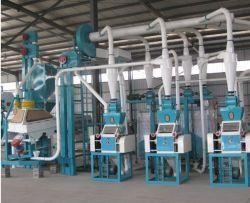 ماكينات طحن الذرة والقمح كاملة الإعداد من التصنيع المطحنة