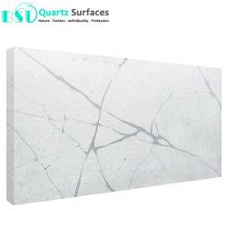 Calacatta künstlicher Quarz-Stein für KücheCountertop und Tisch-Oberseite