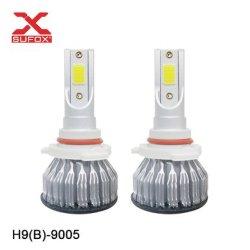 Faro automatico 38W 55W 3800lm H1 H3 H7 H8 H9 H10 H11 9005 di illuminazione LED un chip delle 9006 PANNOCCHIE LED
