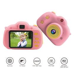 2,4-дюймовый Full HD 1080P с двумя детьми Len камеры с помощью Фоторамки детские игры Детские игрушки