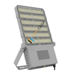 IP66 waterdichte LEIDEN Licht & Stralingshoek van de Dissipatie van de Hitte van het Gebied de Goede Optische Asymmetrische Met Hoge LEIDENE van het Lumen Luminaires van de Schijnwerper Modulaire LEIDENE Verlichting 300W 5years