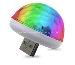 MiniOnlook LED Auto USB-Atmosphären-Röhrenblitz-Lichter für Geburtstagsfeier-Stadium DJ-Beleuchtung-Weihnachtsdekoration des Kindes