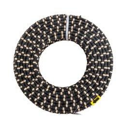 Gesinterde diamantkralen voor het snijden van natuurstenen Steengroeve 11,5 mm rubber Diamantdraad